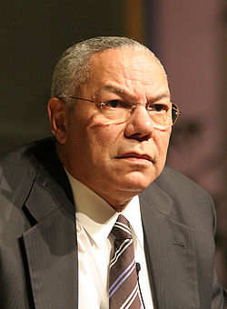 Colin Powell in 2005. Image: Charles Haynes.