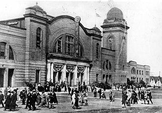 Ricoh Coliseum - Image: Coliseum exterior photo ca 1922