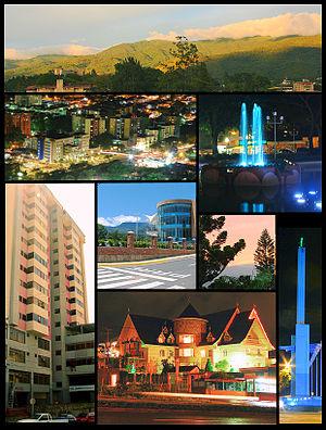 San Cristóbal, Táchira - Image: Collage SCB