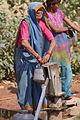Collecting water, Rajastan (10687498523).jpg