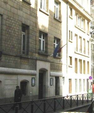 Collège Sévigné - Front door of the school