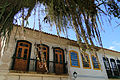 Colonial-Era Facade with Overhanging Fronds - Paraty - Brazil.jpg