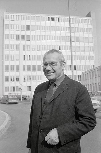 Max Bill - Max Bill in 1970.