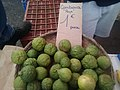 Combava en vente sur le marché forain de Saint Paul (La Réunion).jpg