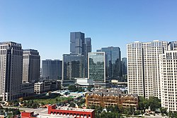 Commercial area in Zhengdong New Area.jpg