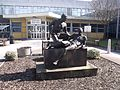Compassion - Statue outside the Selly Oak Hospital Out-Patients Department (4413940104) (2).jpg