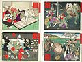 Compiled Album from Four Series- A Mirror of Famous Generals of Japan; Comic Pictures of Famous Places in Civilizing Tokyo; Twenty-four Accomplishments in Imperial Japan; Twenty-four Hours LACMA M.84.31.30 (3 of 35).jpg