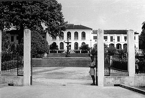 Conakry - Conakry - French Governor's Palace in 1956