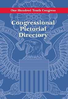 Congressional Pictorial Directory 110th Congress June 2007 cover - low resolution.jpg