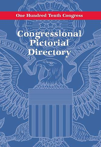 Congressional Pictorial Directory - 110th Congress, June 2007