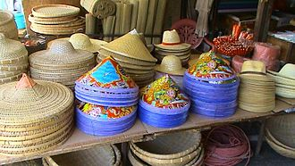 Asian conical hat - Image: Conical hats 04