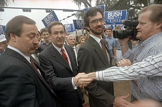 Pat Buchanan - Buchanan at the Florida State Capitol in 1992