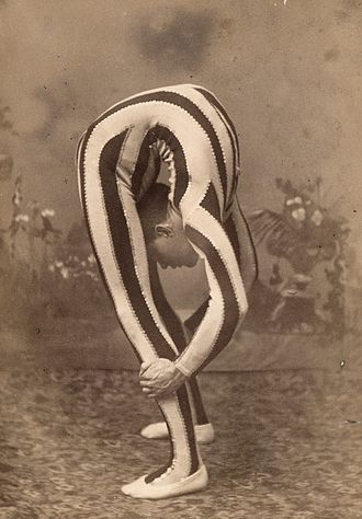 Backbend - Contortionist doing a backbend