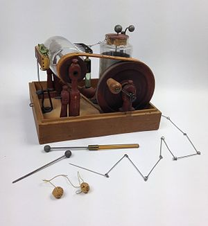 Corbett's electrostatic machine - Corbett's electrostatic machine