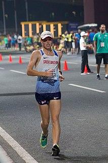 Cam Corbishley British race walker