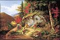 Cornelius Krieghoff - Chippewas à la chasse au caribou (1861).jpg