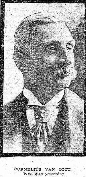 Cornelius Van Cott - Van Cott in the October 26, 1904 edition of the New York Tribune.