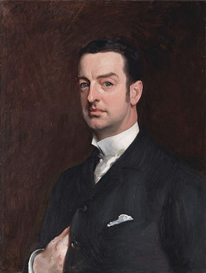 Cornelius Vanderbilt II - Portrait of Vanderbilt by John Singer Sargent