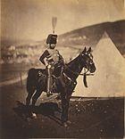 Cornet Wilkin 11th Hussars