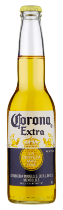 Corona Extra beer bottle (2019)
