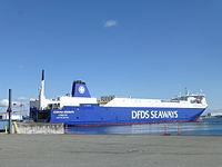 Corona Seaways à Copenhague.JPG