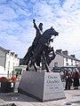 Corwen's new statue of Owain Glyndwr - geograph.org.uk - 628404.jpg