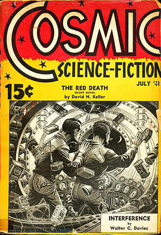 Cosmic Stories and Stirring Science Stories - The July 1941 issue of Cosmic Stories; cover art by Elliott Dold