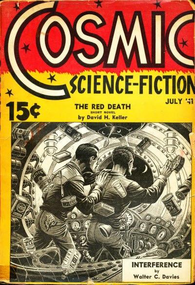 Cosmic Science-Fiction July 1941