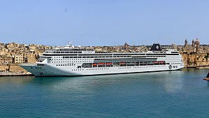 MSC Cruises - Image: Costa Fascinosa and MSC Armonia in Malta (MSC Armonia)