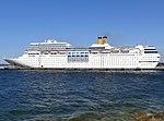 Costa neoRomantica Port Side Tallinn 2 July 2014.JPG
