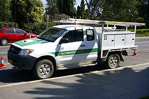 Country Energy - Country Energy utility vehicle