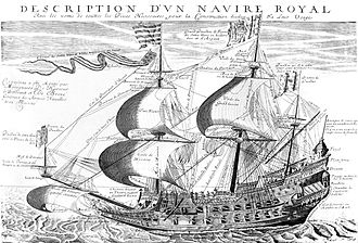 French ship Couronne (1636) - Image: Couronne IMG 7007