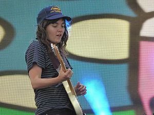 Courtney Barnett - Barnett performing at Coachella in 2016