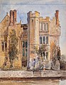 Cox-Jnr-98093 - Hever Castle from the Moat - circa 1850.jpg