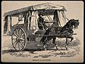 Crimean War; ambulance for the wounded. Wood engraving. Wellcome V0015365.jpg