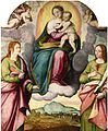 Criscuolo Virgin and Child on a cloud.jpg