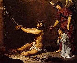 Cristo después de la flagelación y el alma cristiana, by Diego Velázquez.jpg