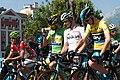 Critérium du Dauphiné 2014 - Etape 6 - départ maillots de leaders.jpg