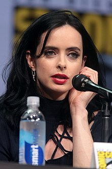 Krysten Ritter - the cool, weird, charming,  actress, model,   with German, Scottish, English,  roots in 2019