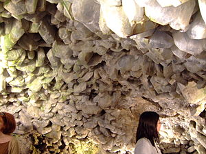 Crystal Cave (Ohio) - Inside the cave