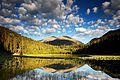 Cub Lake at dawn in Rocky Mountain National Park. NPS-Debra Miller (18680833532).jpg