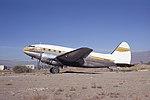 Curtiss C-46F cn 22556 44-78733 N1258N Reno 23Sep66 (Peter B.Lewis via RJF) (20984795884).jpg