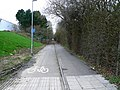 Cycle track-footpath from Faraday Road to Dorcan Way, Swindon - geograph.org.uk - 303404.jpg