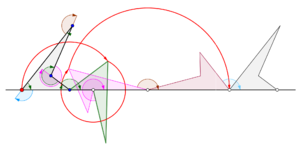 Cyclogon - Cyclogon generated by a non-convex quadrilateral