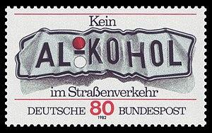 Deutsch: Kein Alkohol im Straßenverkehr Englis...