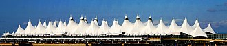 Denver International Airport - Image: DIA Airport Roof