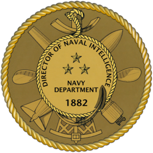 David J. Dorsett - Director of Naval Intelligence Seal