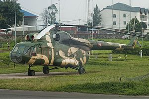 Air Force of the Democratic Republic of the Congo - Democratic Republic of Congo Air Force Mil Mi-8, February 2011