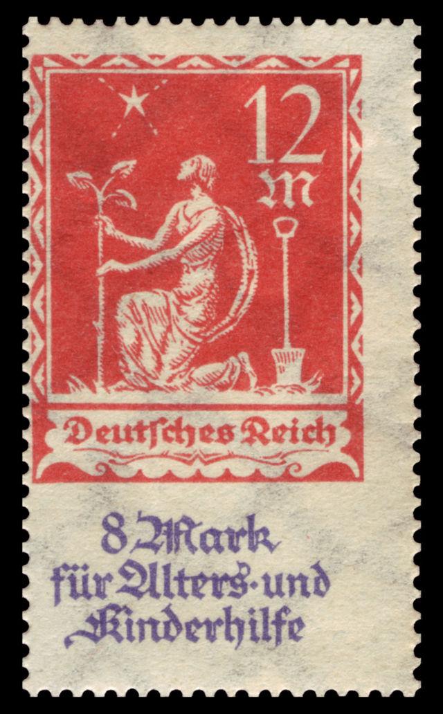 sondermarken der detschen reichspost 1936