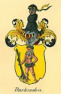Family coat of arms from Dachröden